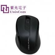 Uniscom/紫光电子 黑骑U1 USB 清华紫光电鼠标 加重 鼠标 正品