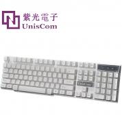 紫光M18 USB键盘 机械悬浮键帽