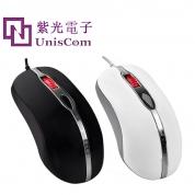紫光U39 新款鼠标USB 精准定位  加重设计  炫酷灯光