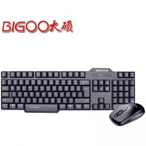 大硕DR3000 无线键鼠套装 2.4G无线鼠标键盘套装 轻音键盘