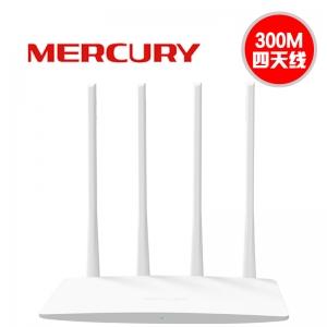 水星 MW325R【新款】四天线 300M 无线路由器 (10个/箱)
