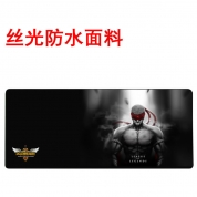 YG -【丝光防水-800-盲僧 -简包】高精锁边鼠标垫 800*300*4mm