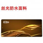 YG -【丝光防水-800-金色年华 -简包】高精锁边鼠标垫 800*300*4mm