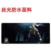 YG -【丝光防水-800-半藏 -简包】高精锁边鼠标垫 800*300*4mm