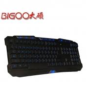 大硕DK8100字符发光(微索V768中板发光)三色发光键盘