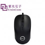 紫光U52商务办公有线鼠标(黑色)