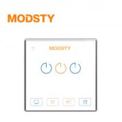 摩登时代 标智系列 MD8603【三键 - 白色】智能开关