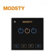 摩登时代 标智系列 MD8603【三键 - 黑色】智能开关