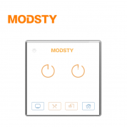 摩登时代 MD8602【二键 - 白色】智能开关