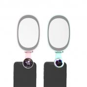 手机镜头 Funipica F528P 直播补光灯HD0.6X花瓣广角+微距